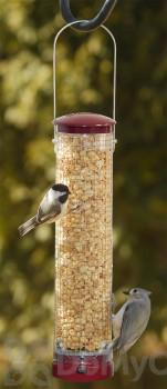 Aspects Quick Clean Peanut Bird Feeder Medium Berry Color (432)