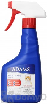 Adams Flea and Tick Spray for Cats