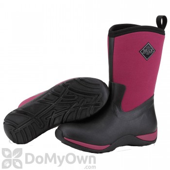 Muck Boots Arctic Weekend Women\'s Black / Maroon Boot - Women\'s 9
