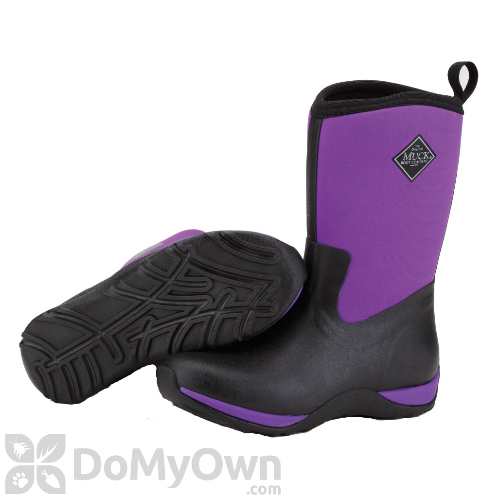 Muck Boots Arctic Weekend Womens Black / Purple Boot