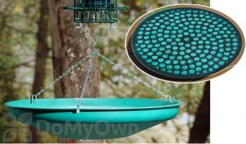 Backyard Birding Solutions Bird Seed Saucer Green