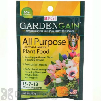 GardenGain 15-7-13 All Purpose Controlled Release Plant Food - 3 pack