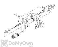 B&G Robco QCG Gun Hinge Bolt Nut (34513-D)