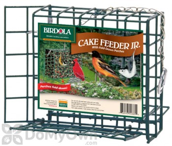 Birdola Products Small Cake Bird Feeder with Perches (54385)