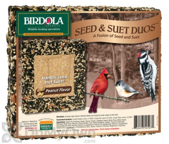 Birdola Products Duos Bird Seed Cake Peanut (54507)