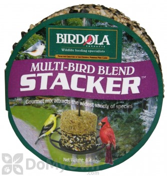 Birdola Products Multi-Bird Blend Stacker Bird Seed Cake (54610)