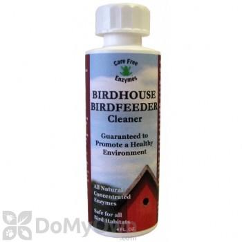 Care Free Enzymes Bird House Bird Feeder Cleaner 4 oz. (94725)