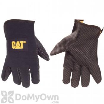 CAT Fleece Lined Jersey Gloves