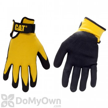 CAT Nylon Nitrile Coated Gloves