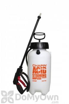Chapin Industrial Acid Staining Sprayer w/Dripless Shut-off 2 Gal. (22251XP)