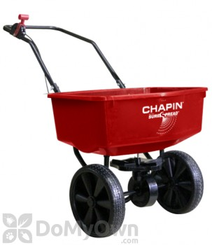 Chapin Residential SureSpread Broadcast Spreader - 10 inch Rubber/Poly Wheels 70 lbs. (80025)