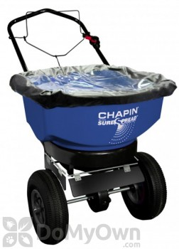 Chapin Residential Salt / Ice Melt SureSpread Broadcast Spreader 80 lb. (80088)