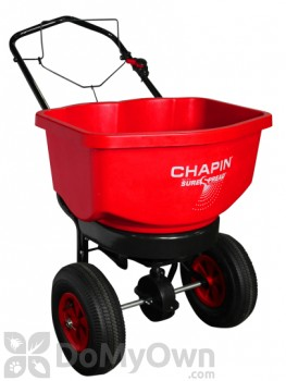 Chapin All Season Residential SureSpread Broadcast Spreader Edge Control 100 lbs. (80100)