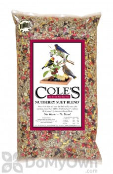 Coles Wild Bird Products Nutberry Suet Blend 40 lb.