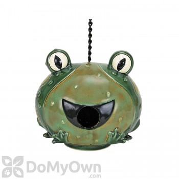 Coynes Company Frog Bird House (D2555)