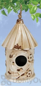 Coynes Company Birds Bird House Ivory (D2577)