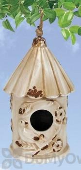 Coynes Company Birds Bird House Ivory (D2577)