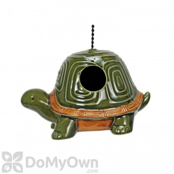 Coynes Company Turtle Bird House with Chain Hanger (D2609)