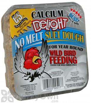 C&S Products Calcium Delight No-Melt Suet Dough (15 oz.) (517)