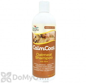Calm Coat Oatmeal Shampoo with Aloe