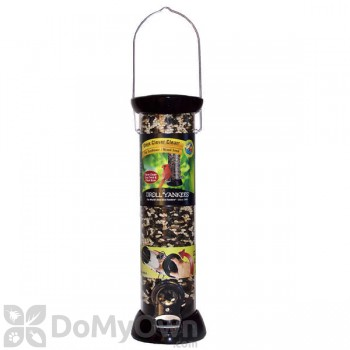 Droll Yankees ONYX Sunflower / Mixed Bird Seed Feeder with Removable Base 18 in. (CC18S)