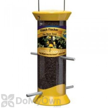 Droll Yankees Nyjer Bird Feeder Yellow (CJTHM8Y)