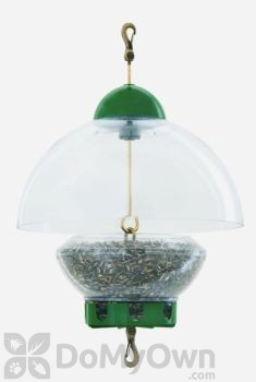 Droll Yankees Big New Green Top Bird Feeder (BTG)