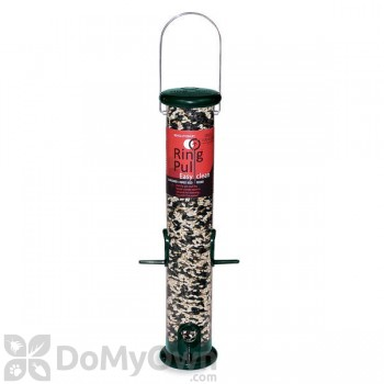 Droll Yankees Ring Pull Forest Green Bird Feeder (RPS15G)