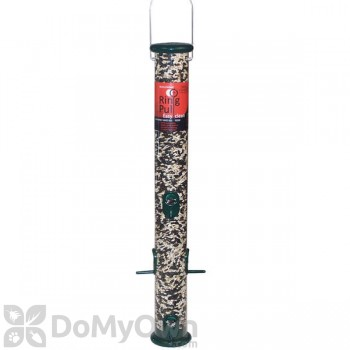 Droll Yankees Ring Pull Forest Green Bird Feeder - 23 in. (RPS23G)