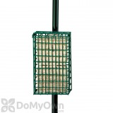 Droll Yankees Suet Bird Feeder with Double Pole Clamp (SFPCD)