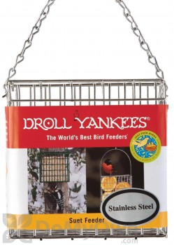 Droll Yankees Stainless Steel Suet Bird Feeder (PSFS)