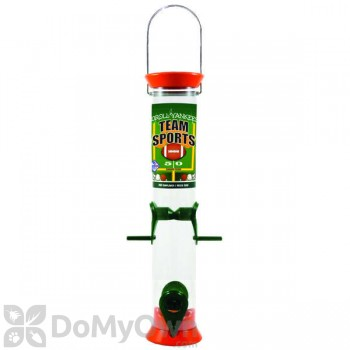 Droll Yankees Sunflower Bird Feeder - 15 in. Orange & Green (TS40204)