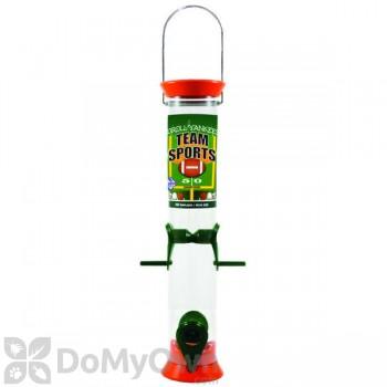 Droll Yankees Sunflower Bird Feeder - 15 in. Orange & Green (TS40204)