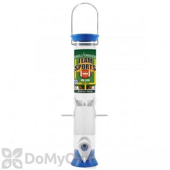 Droll Yankees Sunflower Bird Feeder - 15 in. Light Blue & White (TS40205)