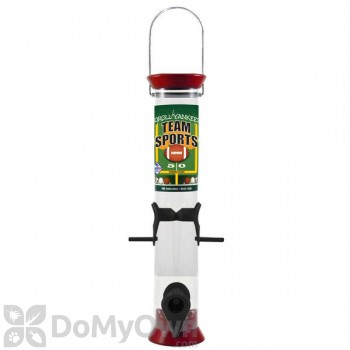Droll Yankees Sunflower Bird Feeder - 15 in. Red & Black (TS40206)
