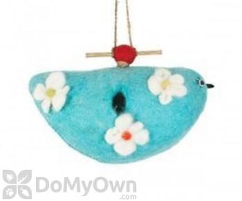 DZI Handmade Designs Bluebird Felt Bird House (DZI484021)