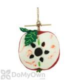 DZI Handmade Designs Apple Felt Bird House (DZI484022)