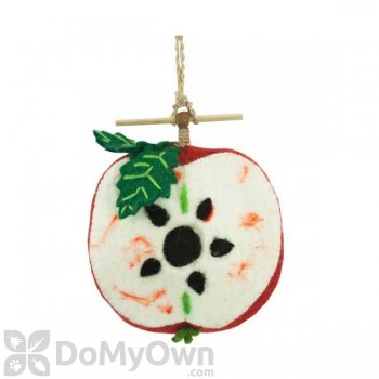 DZI Handmade Designs Apple Felt Bird House (DZI484022)