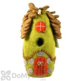 DZI Handmade Designs Forest House Felt Bird House (DZI484027)