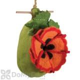 DZI Handmade Designs Poppy Felt Bird House (DZI484046)