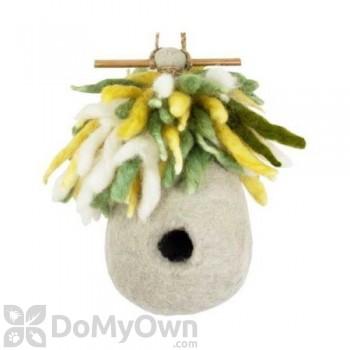 DZI Handmade Designs Hermit Hut Felt Bird House (DZI484006)