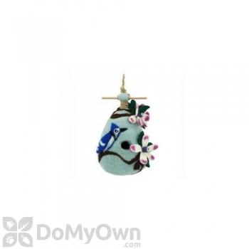 DZI Handmade Designs Chinaberry Blue Jay Felt Bird House (DZI484028)