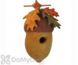 DZI Handmade Designs Pin Oak Acorn Felt Bird House (DZI484042)