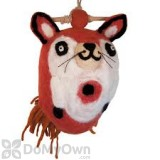 DZI Handmade Designs Fox Felt Bird House (DZI484044)