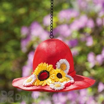 Evergreen Enterprises Bird House Red Sunflower Hat (2BH105)