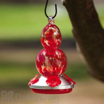 Evergreen Enterprises Red Grapes Glass Hummingbird Feeder (2HF042)