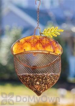 Evergreen Enterprises Harvest Shimmer Acorn Bird Feeder (2BF325)