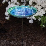 Evergreen Enterprises Scalloped Bird Bath on Stake (2GB211)