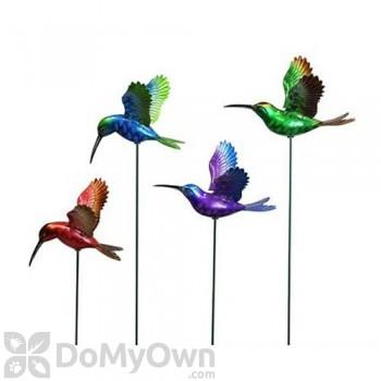 Exhart Windy Wings Hummingbird Garden Stakes