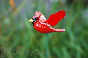 Exhart Windy Wings Songbirds Garden Stake (50213)
